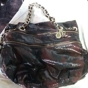 AWESOME SNAKE SKIN HANDBAG